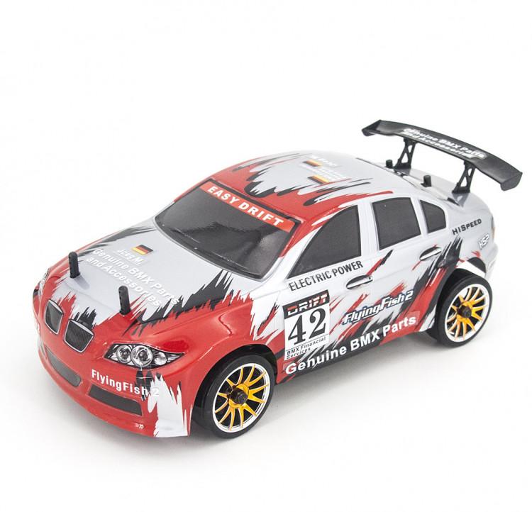 Радиоуправляемая машина для дрифта HSP FlyingFish2 BMW Drift Car 4WD 1:16 2.4G - 94163-16302 купить оптом или в розницу в Москве
