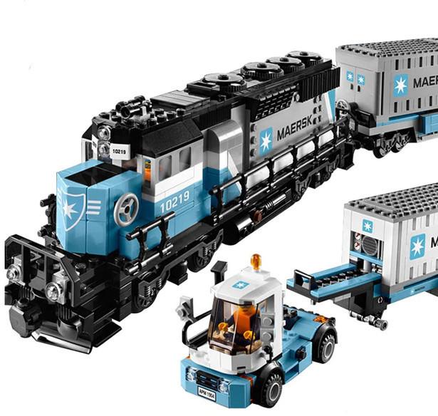 <b>Конструктор Lepin 21006 Грузовой</b> Поезд Маерск - Technic ...