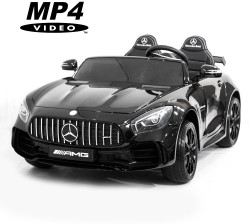 Электромобиль Harley Bella Mercedes-Benz GT R 4x4 MP4 - HL289-BLACK-PAINT-4WD-MP4