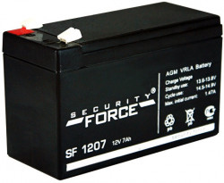 Аккумулятор Security Force 12V7Ah AGM VRLA - SF1207
