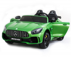 Электромобиль Harley Bella Mercedes-Benz GT R 4x4 MP3 - HL289-MATTE-GREEN-4WD